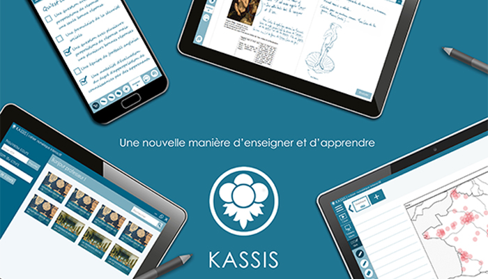 Kassis : Application étudiant sur tablette
